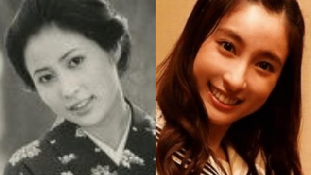 岡江久美子、土屋太鳳、激似比較画像