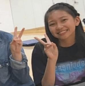 マユカ、中学生時代