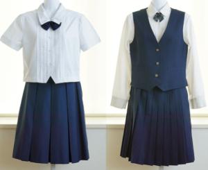 大分市立東陽中学校の制服