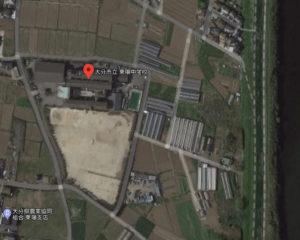 大分市立東陽中学校の地図