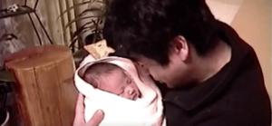 藤岡弘と長女誕生