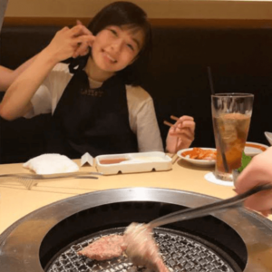 森七菜の家族で焼肉