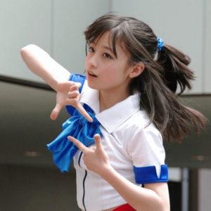 橋本環奈のダンスアイドルグループ時代の奇跡の一枚