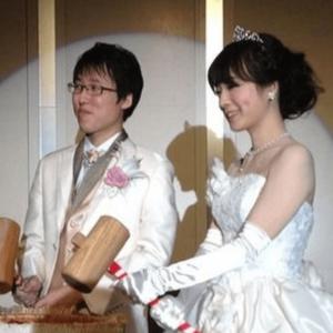 室田伊緒と井山祐太の結婚披露宴
