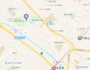アオバジャパン・インターナショナルの地図