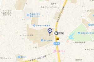 聖心インターナショナルスクール地図