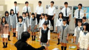 藤井風の岡山城東高等学校音楽学類