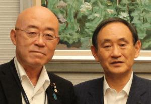 山本たかし氏 横浜市会議員と菅義偉