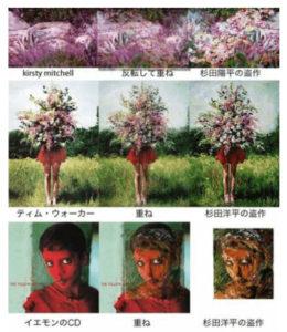 杉田陽平の盗作疑惑の作品の数々