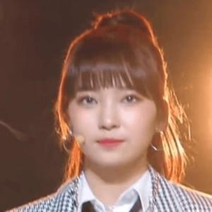 韓国合宿ミッション3、チーム演技でラップを魅せたときのマユカの髪型