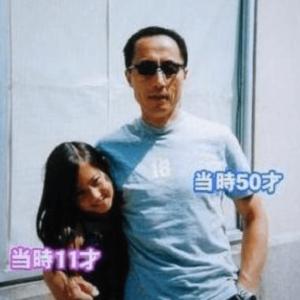河上麻友子と父親