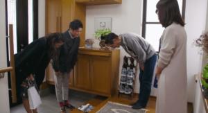 福田萌子と杉田陽平と父親と母親と姉