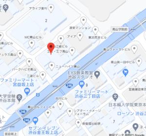 ファンコミュニケーションズの地図