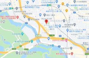 共立女子大学の地図