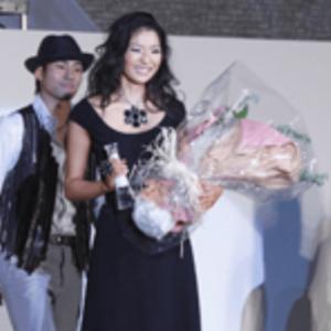 福田萌子「2010ミス・インターナショナル・ジャパン」受賞式