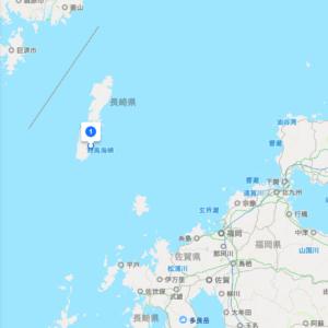 対馬市の全体地図
