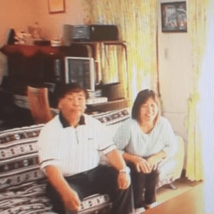 アンゴラ村長の父親と母親