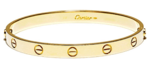 Cartier LOVEブレスレット