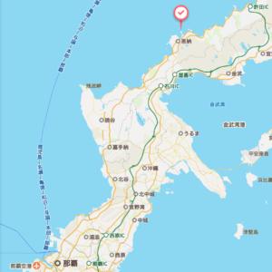 ANAインターコンチネンタル万座ビーチリゾートの地図
