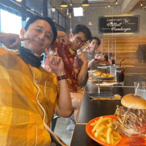 【レストラン】キャプテンカンガルー沖縄の有吉御一行