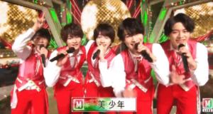 『MステSUPER LIVE 2020』での美少年の 5人
