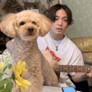 優里と愛犬