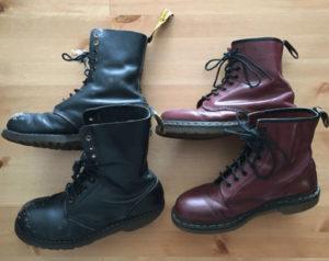 シシドカフカのDr.MartensのCORE1919のブーツ