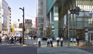 コレド日本橋前の交差点
