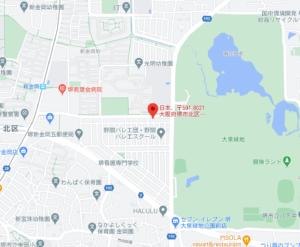 さらば森田の実家の蕎麦屋の地図