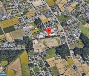 栃木県立黒磯南高等学校の航空写真