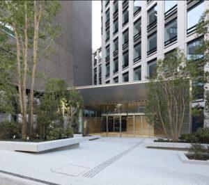 新目黒東急ビルのエントランス