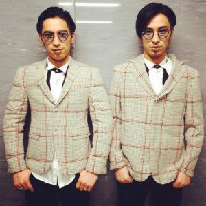双子モデルの「SuperTwins」