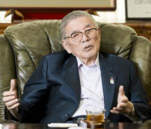 大川悠さんの祖父