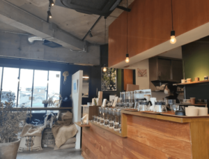 Jubilee Coffee and Roaster店内