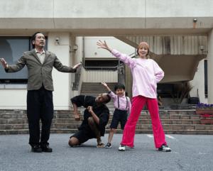 映画「踊ってミタ」の川原瑛都と共演者達