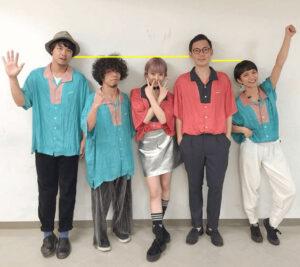 Awesome City Clubメンバーの5人、身長比較画像
