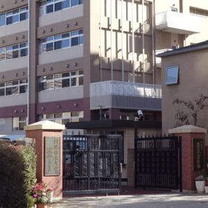 目黒日本大学高等学校の外観