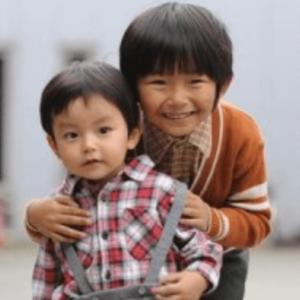 3歳の加藤憲史郎と加藤清史郎