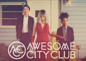 Awesome City Clubメンバーの3人