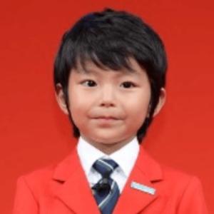 7歳の加藤憲史郎