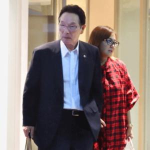 2018年の華原朋美と森和彦会長