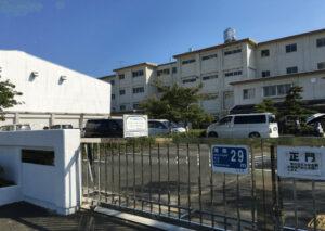 浜松市立西都台小学校の外観