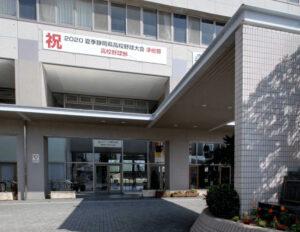 私立浜松開誠館高等学校の校舎エントランス