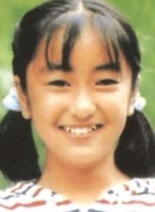 13歳の矢田亜希子
