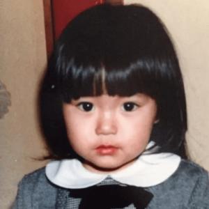 4歳の矢田亜希子