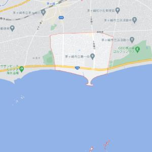 神奈川県茅ヶ崎市東海岸の地図