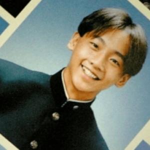 中村ゆりの兄の若い頃