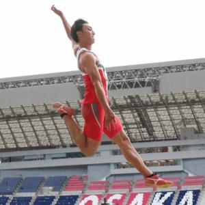 日本選手権優勝の橋岡優輝