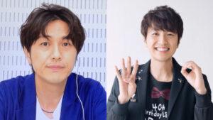 左:北川悠仁の劣化画像、右:40歳の北川悠仁