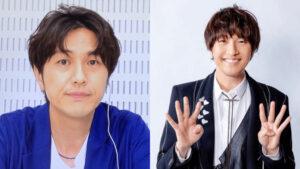 左:北川悠仁の劣化画像、右:44歳の北川悠仁